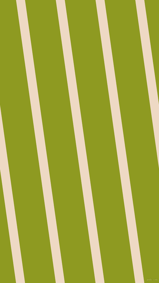 98 degree angle lines stripes, 29 pixel line width, 99 pixel line spacing, Almond and Citron angled lines and stripes seamless tileable