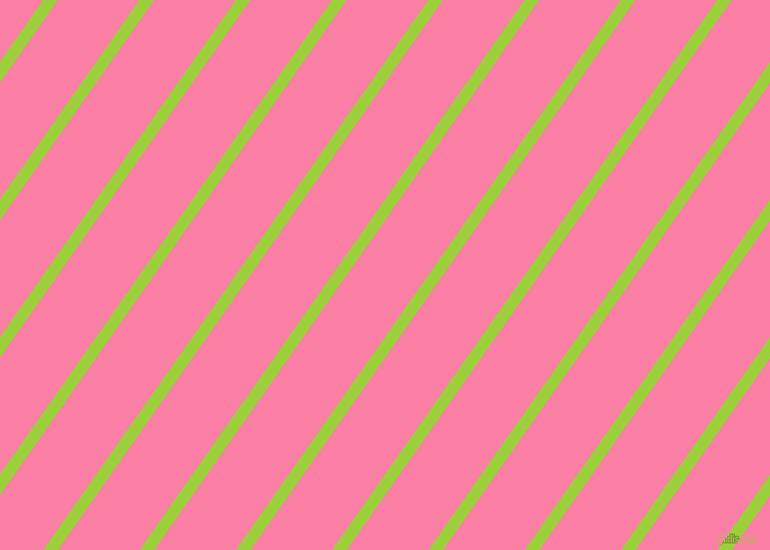 55 degree angle lines stripes, 11 pixel line width, 61 pixel line spacing, Atlantis and Tickle Me Pink angled lines and stripes seamless tileable