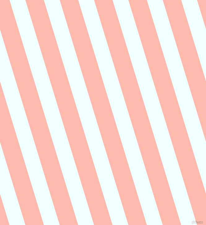 107 degree angle lines stripes, 49 pixel line width, 57 pixel line spacing, Azure and Melon angled lines and stripes seamless tileable