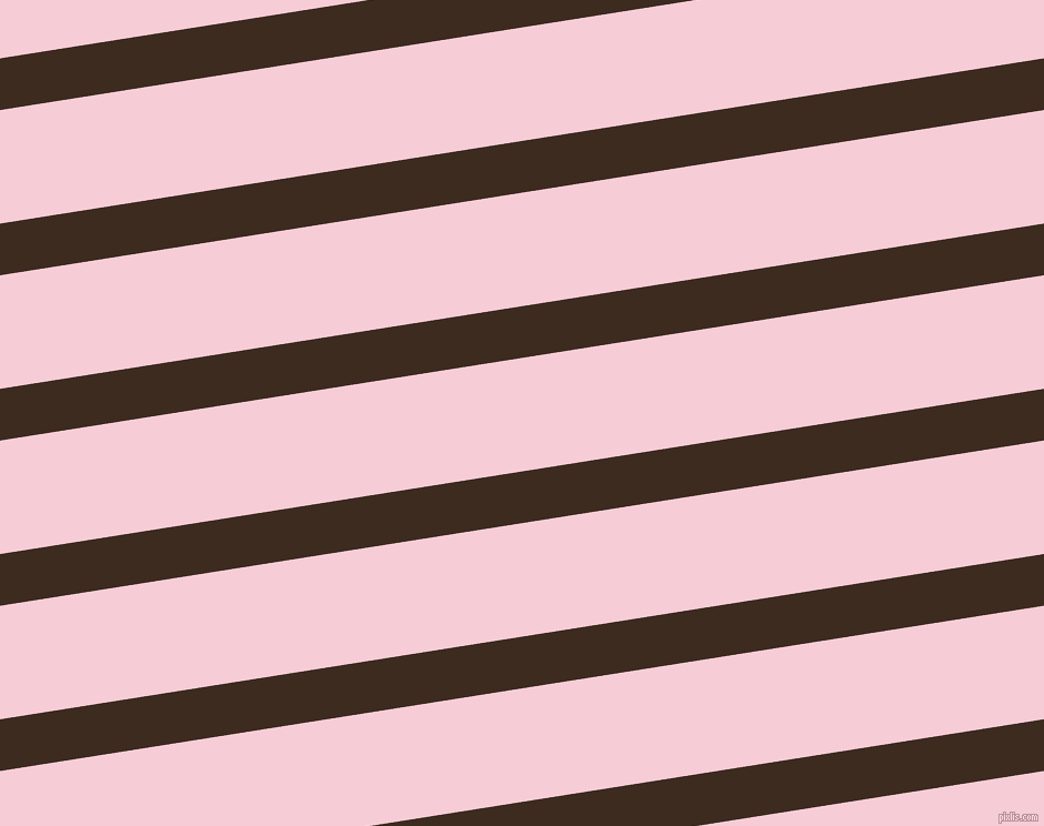 9 degree angle lines stripes, 46 pixel line width, 101 pixel line spacing, Bistre and Pink Lace angled lines and stripes seamless tileable