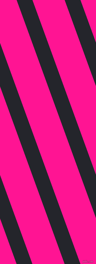 110 degree angle lines stripes, 49 pixel line width, 100 pixel line spacing, Black Russian and Deep Pink angled lines and stripes seamless tileable