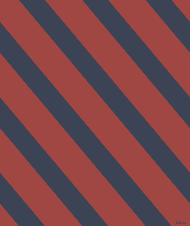 130 degree angle lines stripes, 64 pixel line width, 92 pixel line spacing, Blue Zodiac and Roof Terracotta angled lines and stripes seamless tileable