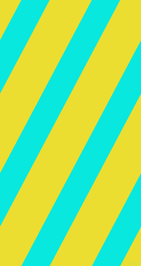 62 degree angle lines stripes, 82 pixel line width, 122 pixel line spacing, Bright Turquoise and Golden Fizz angled lines and stripes seamless tileable