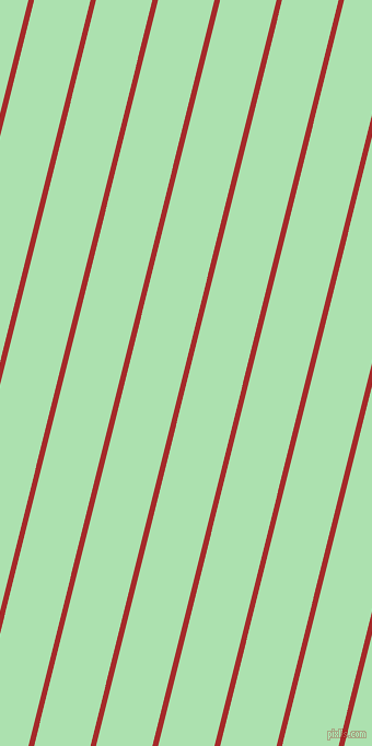 76 degree angle lines stripes, 5 pixel line width, 50 pixel line spacing, Brown and Celadon angled lines and stripes seamless tileable