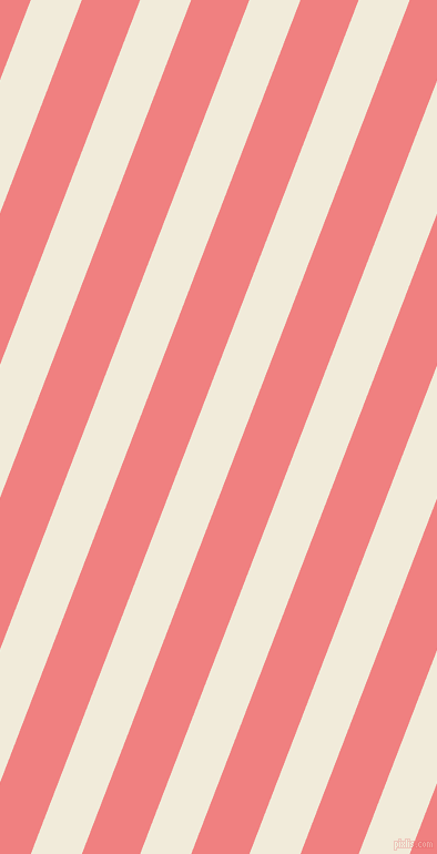 69 degree angle lines stripes, 43 pixel line width, 49 pixel line spacing, Buttery White and Light Coral angled lines and stripes seamless tileable