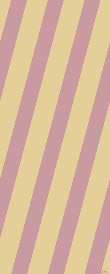 75 degree angle lines stripes, 53 pixel line width, 69 pixel line spacing, Careys Pink and Double Colonial White angled lines and stripes seamless tileable