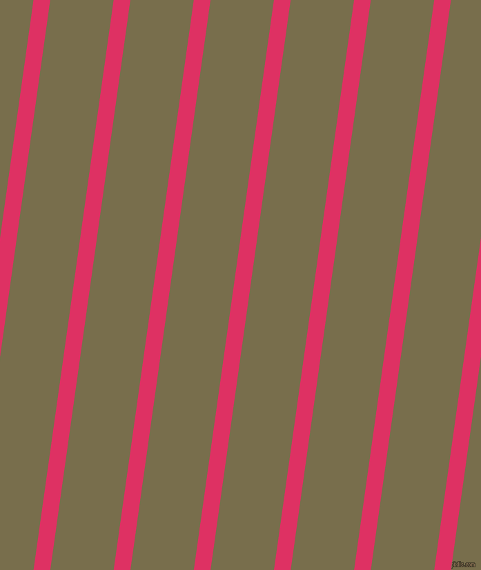 82 degree angle lines stripes, 24 pixel line width, 91 pixel line spacing, Cerise and Go Ben angled lines and stripes seamless tileable