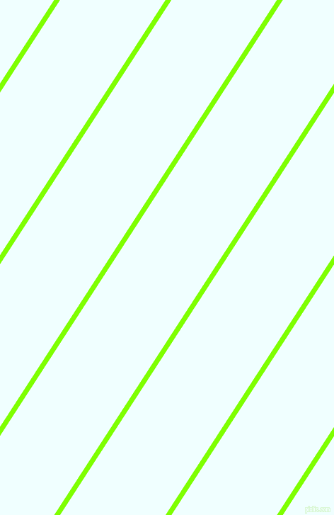 57 degree angle lines stripes, 7 pixel line width, 125 pixel line spacing, Chartreuse and Azure angled lines and stripes seamless tileable