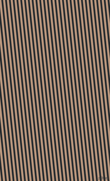 96 degree angle lines stripes, 6 pixel line width, 7 pixel line spacing, Cinder and Pale Taupe angled lines and stripes seamless tileable