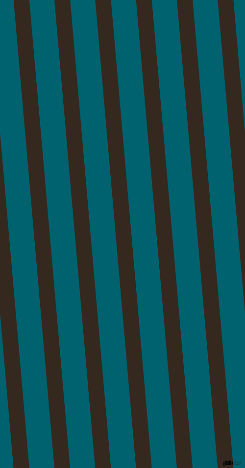 95 degree angle lines stripes, 32 pixel line width, 51 pixel line spacing, Cocoa Brown and Blue Lagoon angled lines and stripes seamless tileable