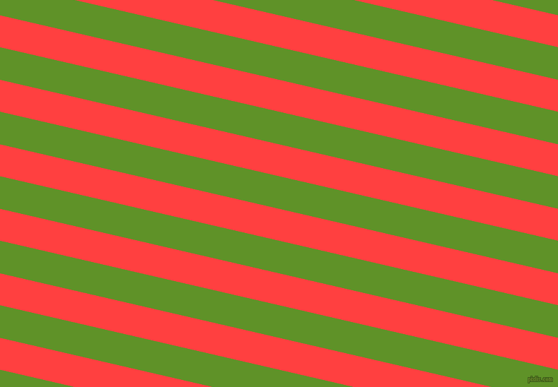 167 degree angle lines stripes, 44 pixel line width, 45 pixel line spacing, Coral Red and Vida Loca angled lines and stripes seamless tileable