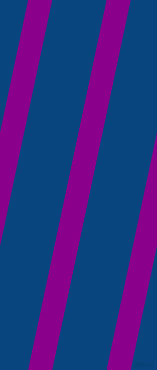 78 degree angle lines stripes, 47 pixel line width, 106 pixel line spacing, Dark Magenta and Dark Cerulean angled lines and stripes seamless tileable
