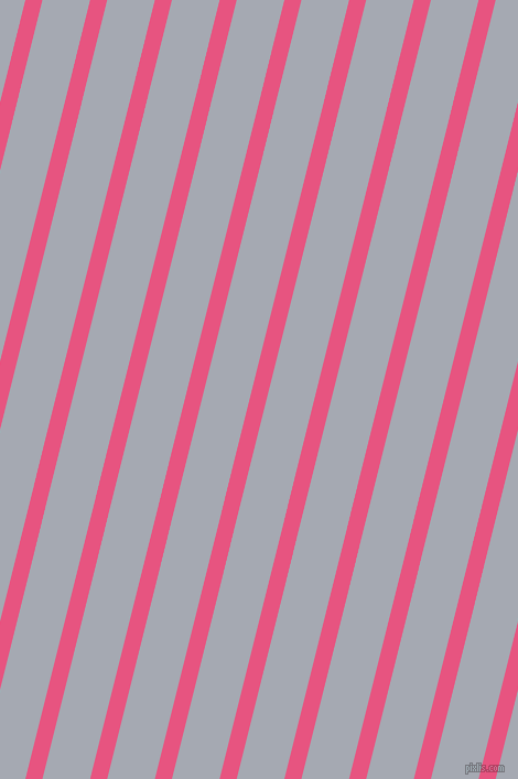 76 degree angle lines stripes, 15 pixel line width, 42 pixel line spacing, Dark Pink and Mischka angled lines and stripes seamless tileable