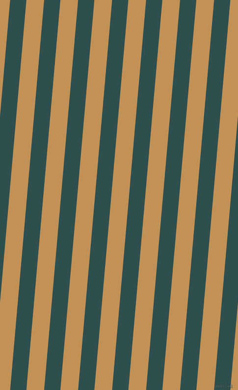 85 degree angle lines stripes, 33 pixel line width, 36 pixel line spacing, Dark Slate Grey and Twine angled lines and stripes seamless tileable