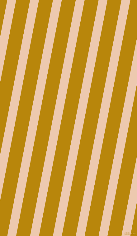 79 degree angle lines stripes, 28 pixel line width, 44 pixel line spacing, Desert Sand and Dark Goldenrod angled lines and stripes seamless tileable