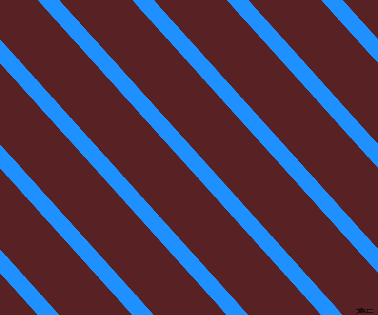132 degree angle lines stripes, 33 pixel line width, 111 pixel line spacing, Dodger Blue and Burnt Crimson angled lines and stripes seamless tileable