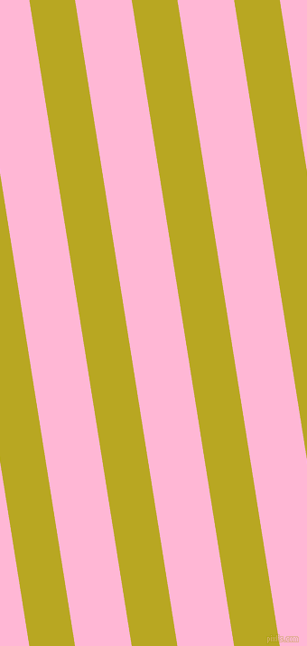 99 degree angle lines stripes, 50 pixel line width, 62 pixel line spacing, Earls Green and Cotton Candy angled lines and stripes seamless tileable