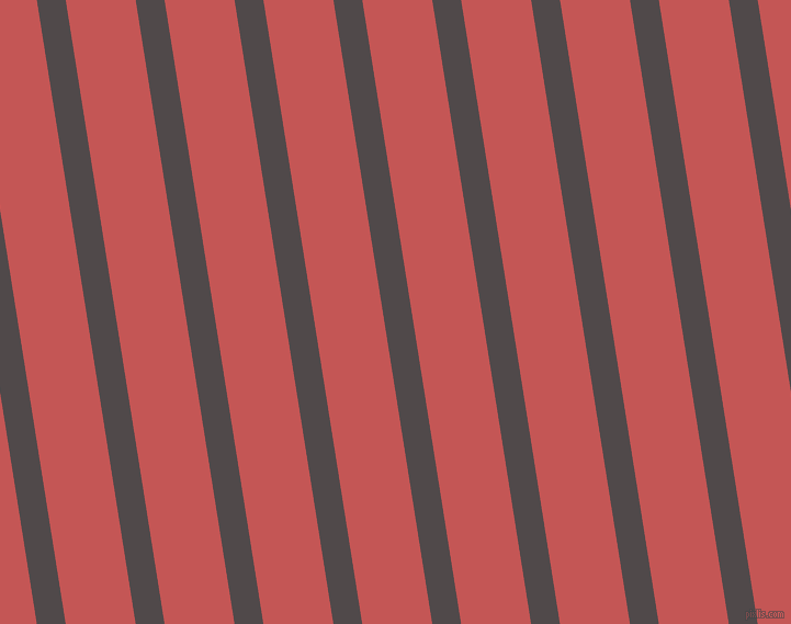 99 degree angle lines stripes, 26 pixel line width, 63 pixel line spacing, Emperor and Fuzzy Wuzzy Brown angled lines and stripes seamless tileable