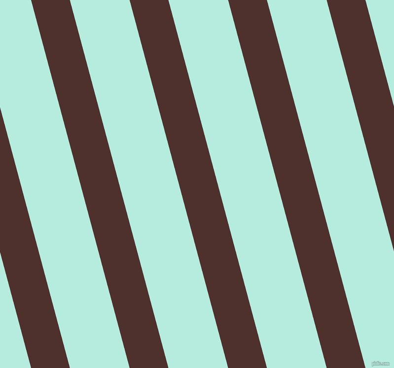 105 degree angle lines stripes, 76 pixel line width, 117 pixel line spacing, Espresso and Water Leaf angled lines and stripes seamless tileable