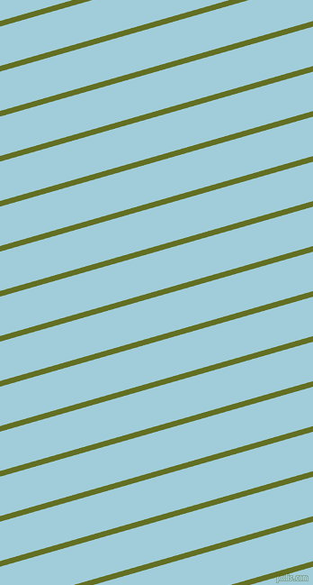 16 degree angle lines stripes, 6 pixel line width, 42 pixel line spacing, Fiji Green and Regent St Blue angled lines and stripes seamless tileable