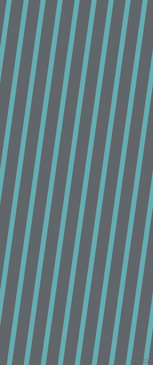 82 degree angle lines stripes, 10 pixel line width, 24 pixel line spacing, Fountain Blue and Shuttle Grey angled lines and stripes seamless tileable