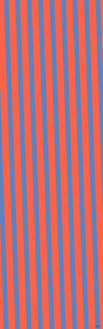 92 degree angle lines stripes, 15 pixel line width, 22 pixel line spacing, Havelock Blue and Tomato angled lines and stripes seamless tileable