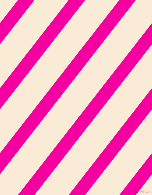 52 degree angle lines stripes, 44 pixel line width, 91 pixel line spacing, Hollywood Cerise and Antique White angled lines and stripes seamless tileable