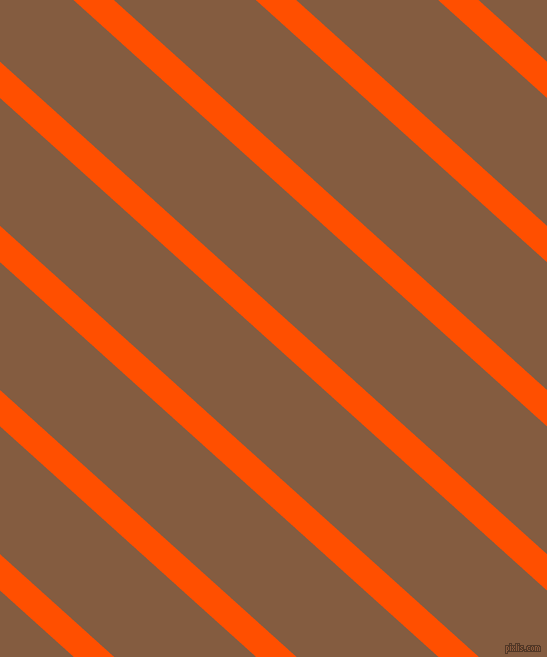 138 degree angle lines stripes, 27 pixel line width, 95 pixel line spacing, International Orange and Potters Clay angled lines and stripes seamless tileable