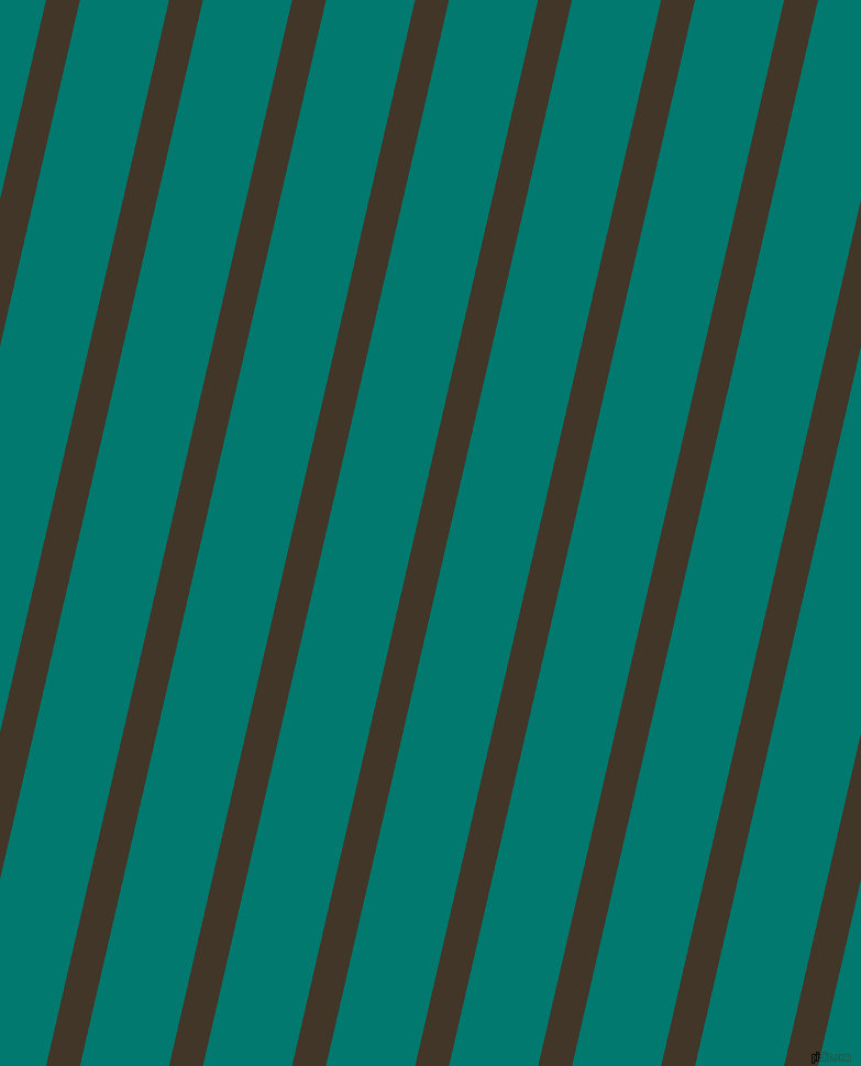 77 degree angle lines stripes, 30 pixel line width, 79 pixel line spacing, Jacko Bean and Pine Green angled lines and stripes seamless tileable