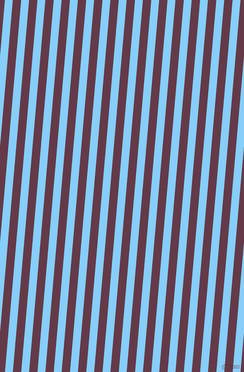 85 degree angle lines stripes, 16 pixel line width, 17 pixel line spacing, Light Sky Blue and Tawny Port angled lines and stripes seamless tileable