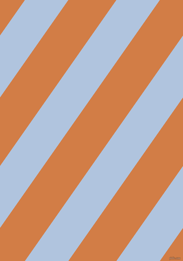 55 degree angle lines stripes, 114 pixel line width, 126 pixel line spacing, Light Steel Blue and Raw Sienna angled lines and stripes seamless tileable