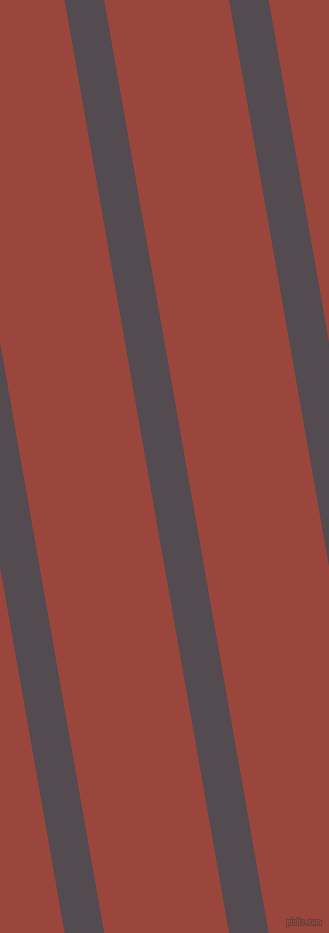 100 degree angle lines stripes, 39 pixel line width, 123 pixel line spacing, Liver and Cognac angled lines and stripes seamless tileable