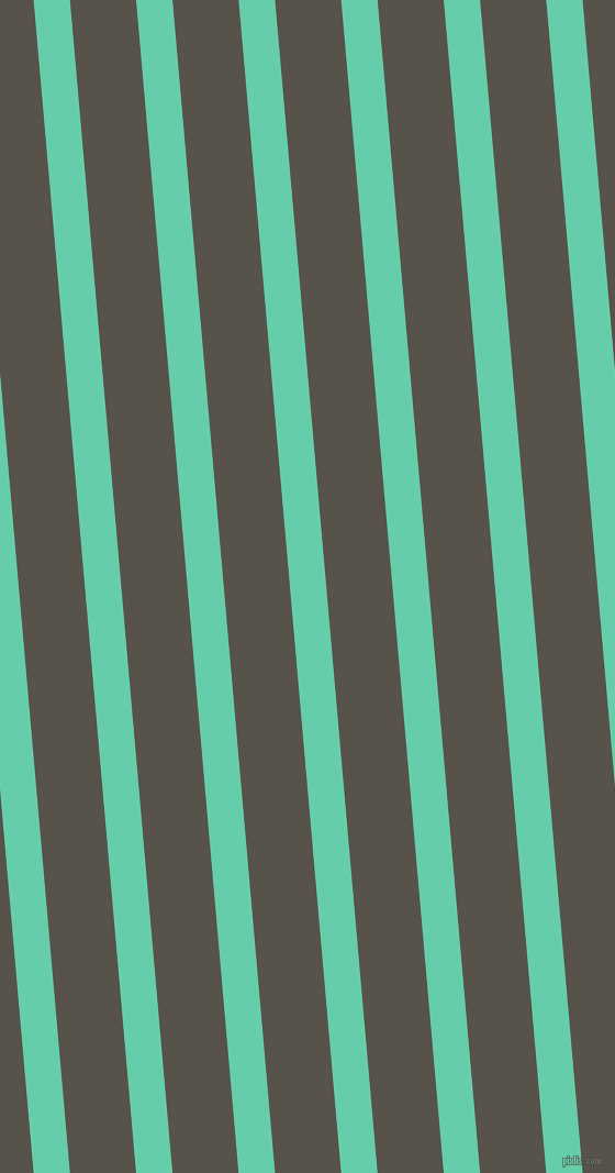 95 degree angle lines stripes, 33 pixel line width, 60 pixel line spacing, Medium Aquamarine and Masala angled lines and stripes seamless tileable