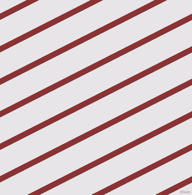 27 degree angle lines stripes, 19 pixel line width, 78 pixel line spacing, Old Brick and White Lilac angled lines and stripes seamless tileable