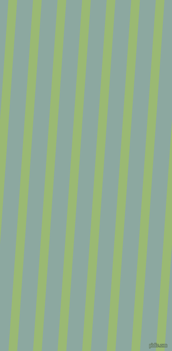 86 degree angle lines stripes, 17 pixel line width, 31 pixel line spacing, Olivine and Cascade angled lines and stripes seamless tileable