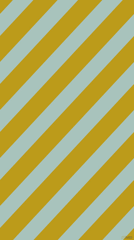 47 degree angle lines stripes, 50 pixel line width, 59 pixel line spacing, Opal and Buddha Gold angled lines and stripes seamless tileable
