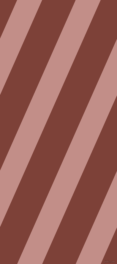 66 degree angle lines stripes, 77 pixel line width, 103 pixel line spacing, Oriental Pink and Red Robin angled lines and stripes seamless tileable