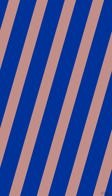 74 degree angle lines stripes, 38 pixel line width, 56 pixel line spacing, Oriental Pink and Smalt angled lines and stripes seamless tileable