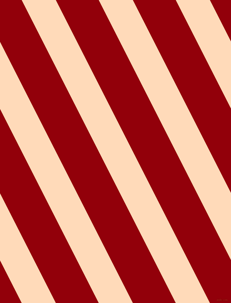 117 degree angle lines stripes, 97 pixel line width, 122 pixel line spacing, Peach Puff and Sangria angled lines and stripes seamless tileable