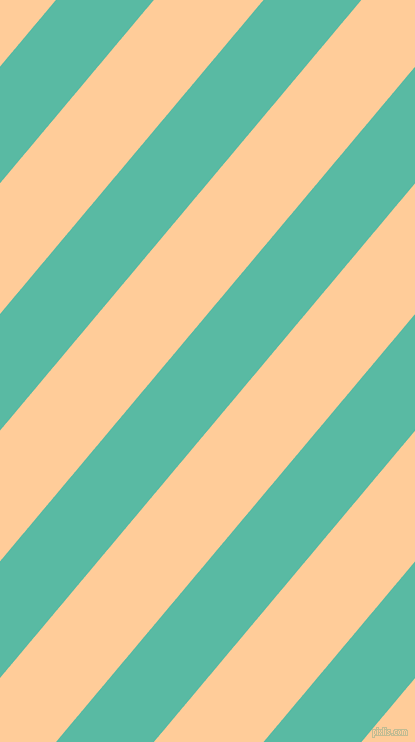 50 degree angle lines stripes, 75 pixel line width, 84 pixel line spacing, Puerto Rico and Peach-Orange angled lines and stripes seamless tileable