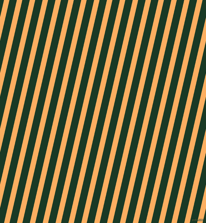 77 degree angle lines stripes, 17 pixel line width, 23 pixel line spacing, Rajah and Deep Fir angled lines and stripes seamless tileable