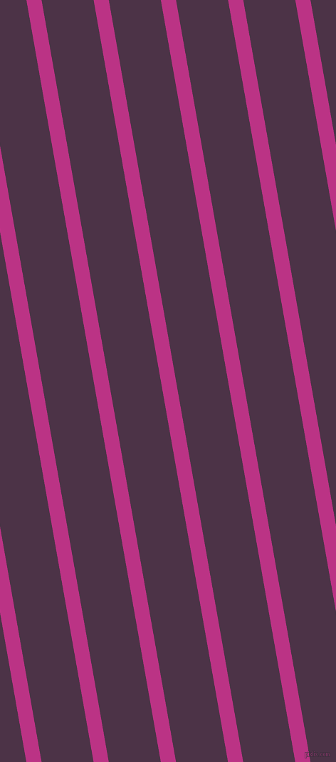 100 degree angle lines stripes, 21 pixel line width, 72 pixel line spacing, Red Violet and Loulou angled lines and stripes seamless tileable