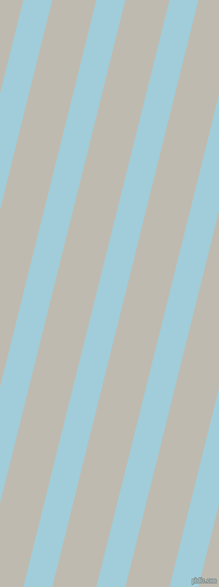76 degree angle lines stripes, 40 pixel line width, 61 pixel line spacing, Regent St Blue and Cotton Seed angled lines and stripes seamless tileable