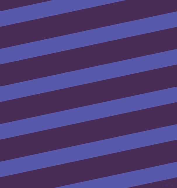 12 degree angle lines stripes, 52 pixel line width, 74 pixel line spacing, Rich Blue and Scarlet Gum angled lines and stripes seamless tileable