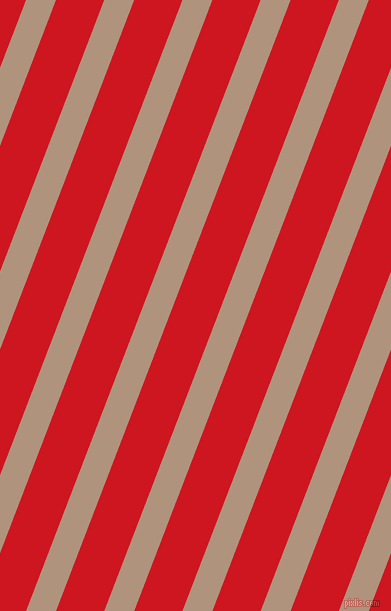 69 degree angle lines stripes, 28 pixel line width, 45 pixel line spacing, Sandrift and Fire Engine Red angled lines and stripes seamless tileable