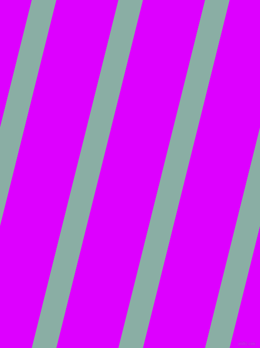 76 degree angle lines stripes, 49 pixel line width, 124 pixel line spacing, Sea Nymph and Psychedelic Purple angled lines and stripes seamless tileable