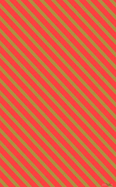 133 degree angle lines stripes, 11 pixel line width, 17 pixel line spacing, Turmeric and Coral Red angled lines and stripes seamless tileable