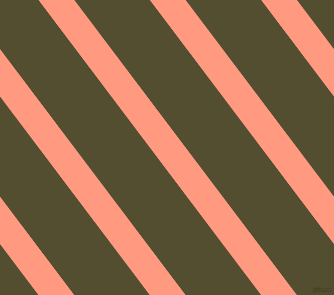 127 degree angle lines stripes, 57 pixel line width, 120 pixel line spacing, Vivid Tangerine and Thatch Green angled lines and stripes seamless tileable