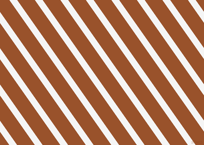 125 degree angle lines stripes, 22 pixel line width, 50 pixel line spacing, White Smoke and Hawaiian Tan angled lines and stripes seamless tileable