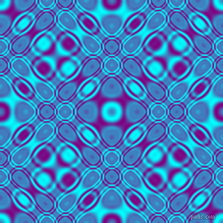 , Aqua and Purple cellular plasma seamless tileable